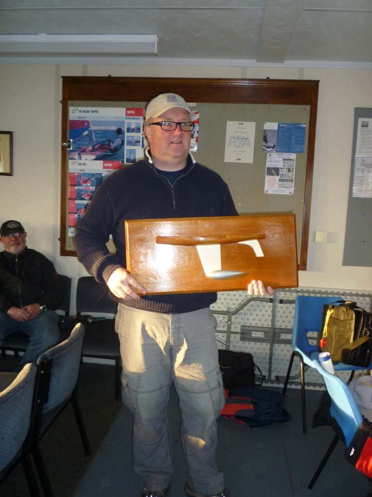Winner of the Gibbs trophyy 2012/13 Darin Ballington