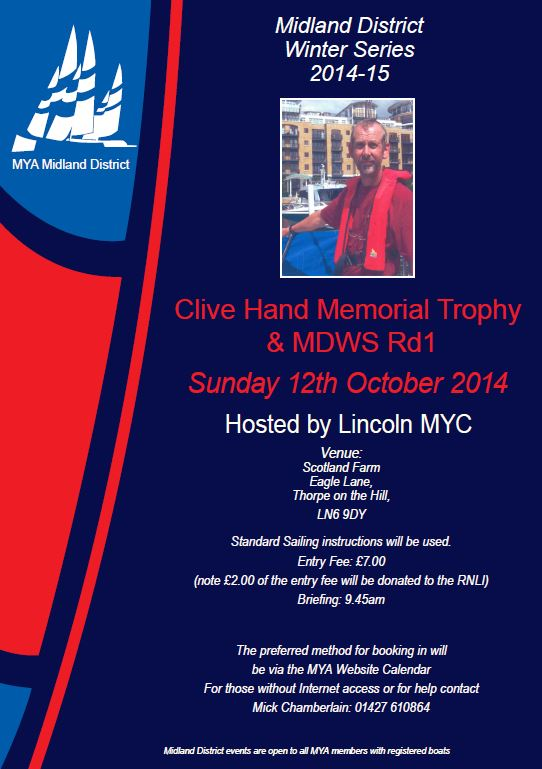 poster clive Hand Snipped