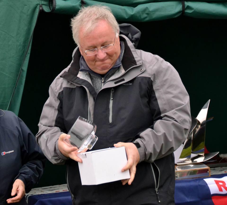 John Tushingham Third place