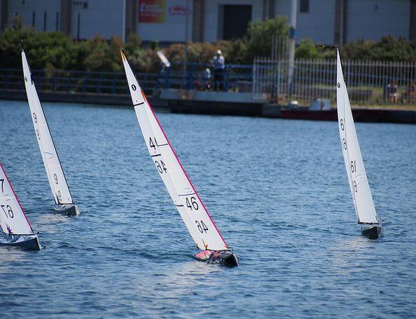 Radio Control Yacht Racing at